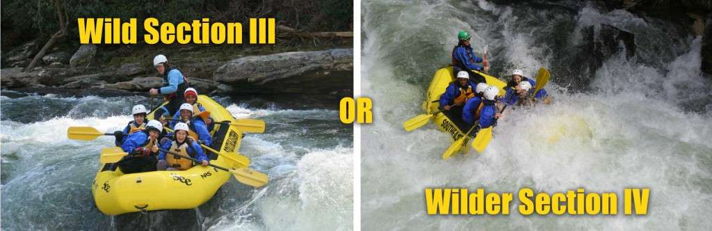 Chattooga River Rafting Section III & IV