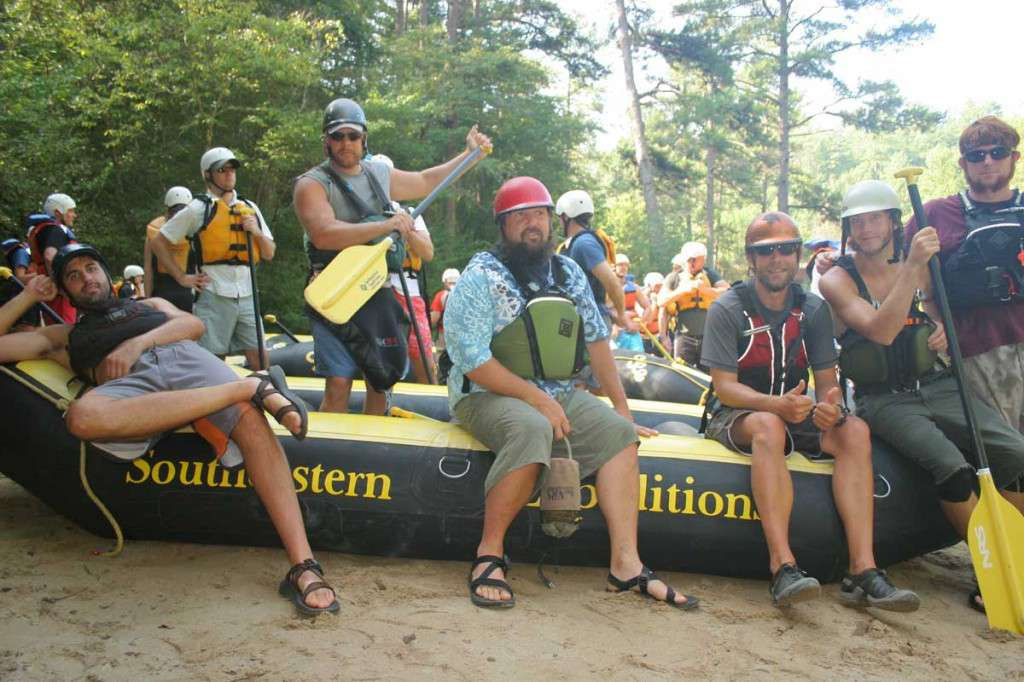 Chattooga River Rafting Guides