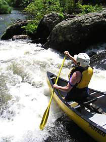 Chattooga River Canoeing