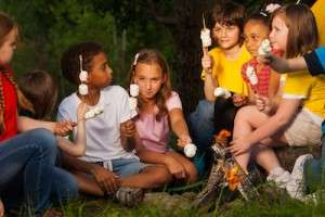 Children Camping | Southeastern Expeditions