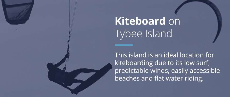 Kiteboard on Tybee Island