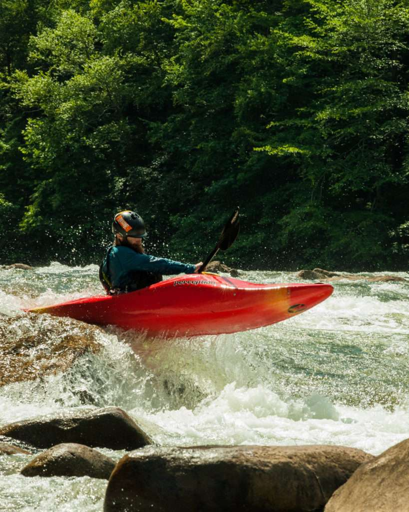 advanced kayaking clinics in Georgia