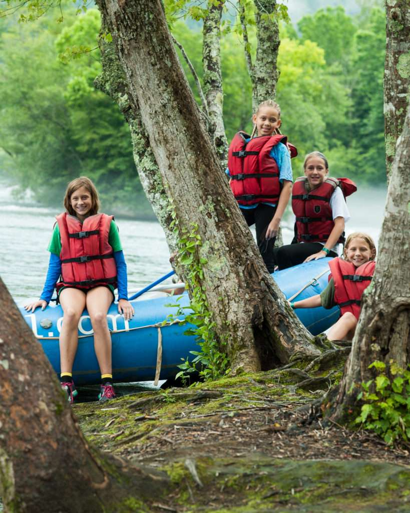 scout rafting trips in Georgia